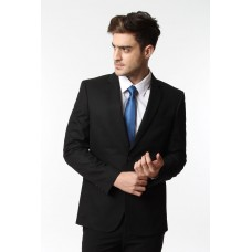 Jas Slim Fit Black Stripes Texture 236360